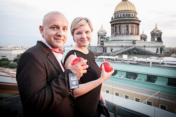 На фото: Сергей Рогожин с дочерью Александрой