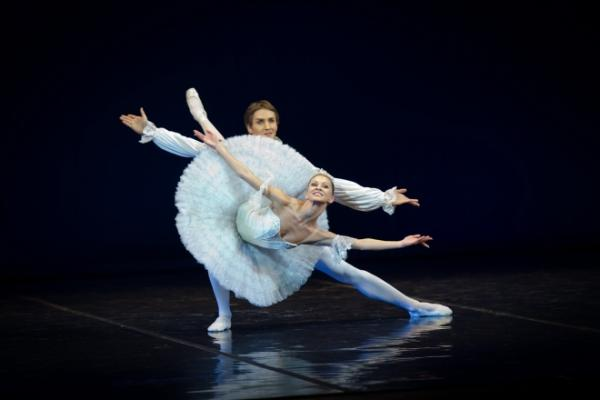 Илзе Лиепа на сцене Большого театра
