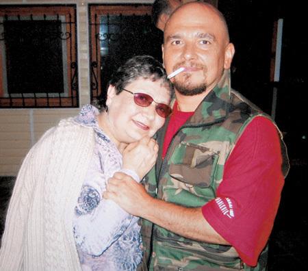 Трофим с мамой Галиной Фёдоровной