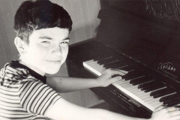 Сергей Жилин в детстве