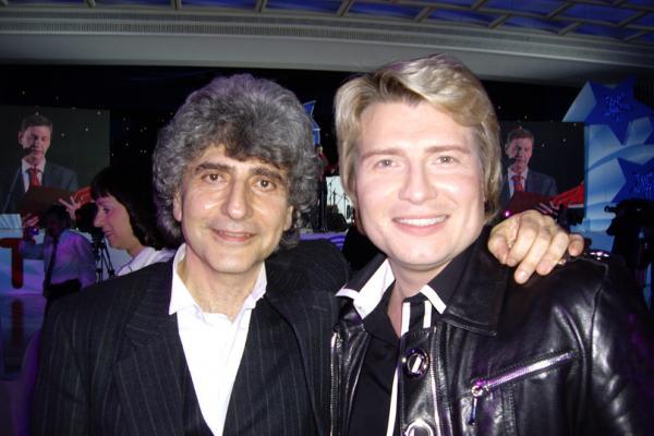 Симон Осиашвили с Николаем Басковым