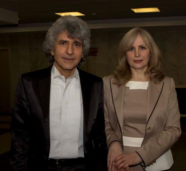 Симон Осиашвили с третьей женой Татьяной