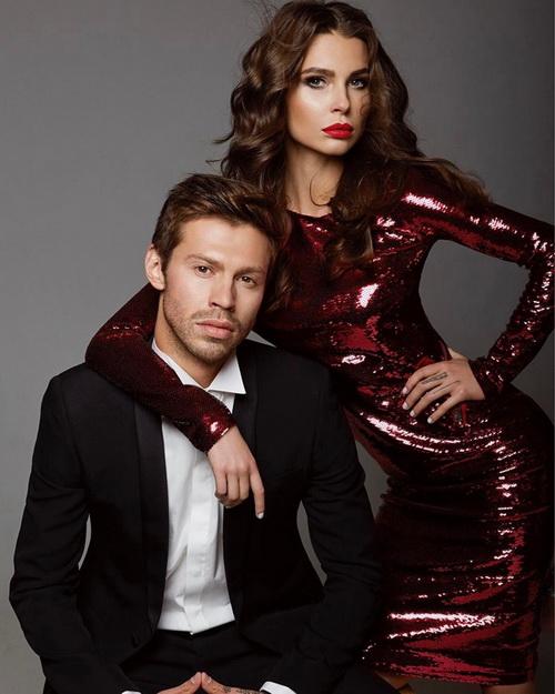 На фото: Федор Смолов и Юлия Левченко