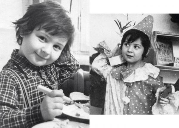 Стас Костюшкин в детстве