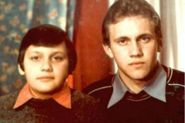Стас Михайлов со старшим братом