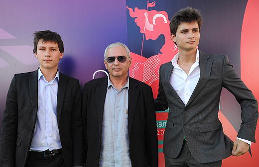Иван с отцом и братом