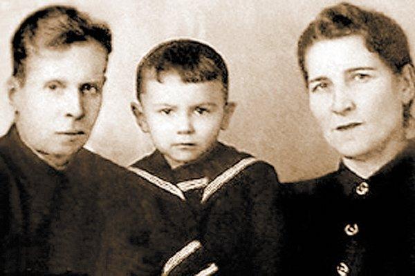 Валерий с родителями: Яковом Степановичем и Екатериной Ивановной