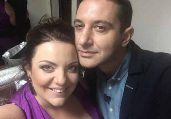 На фото: Валерий Ославский с женой