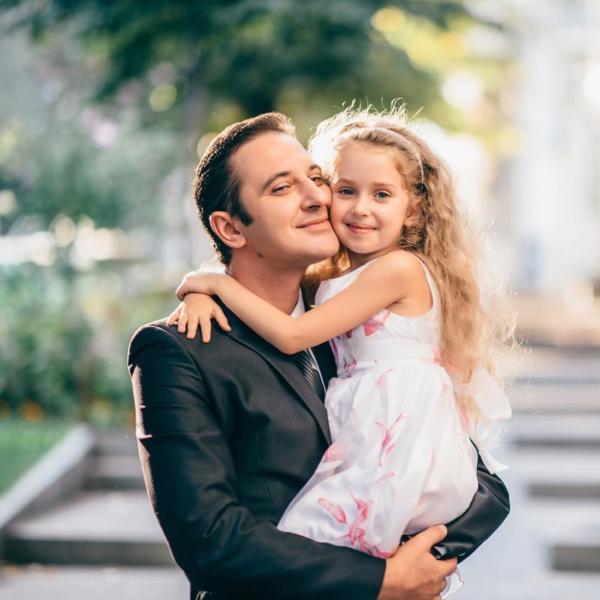 Валерий Ославский и его дочь Кристина