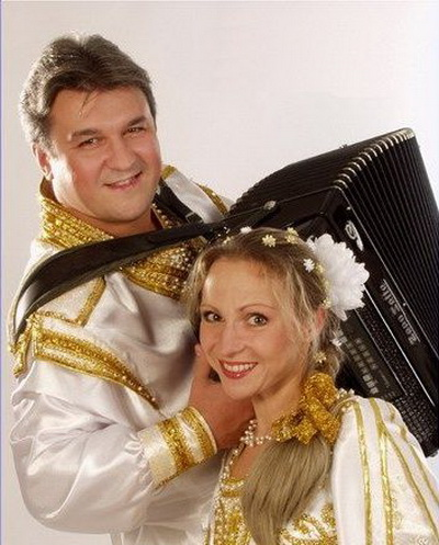 Валерий Семин и Елена Василек