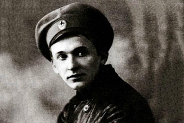 Александр Вертинский, фронт, 1914 год