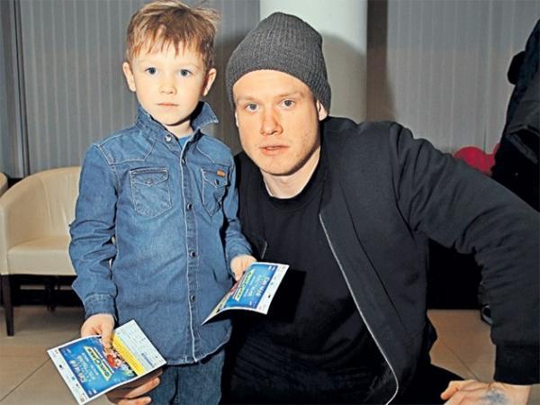 Виктор Хориняк с сыном Иваном