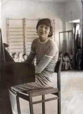На фото: Виктор Королев в молодости