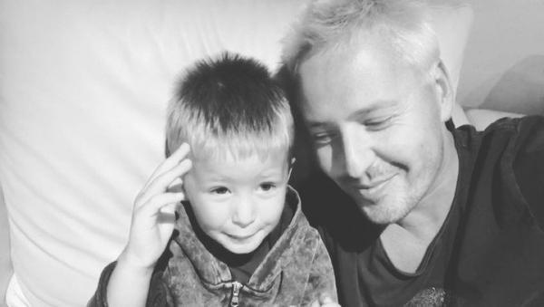 На фото: Витас с сыном