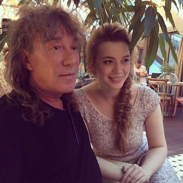 Владимир Кузьмин с дочерью Соней