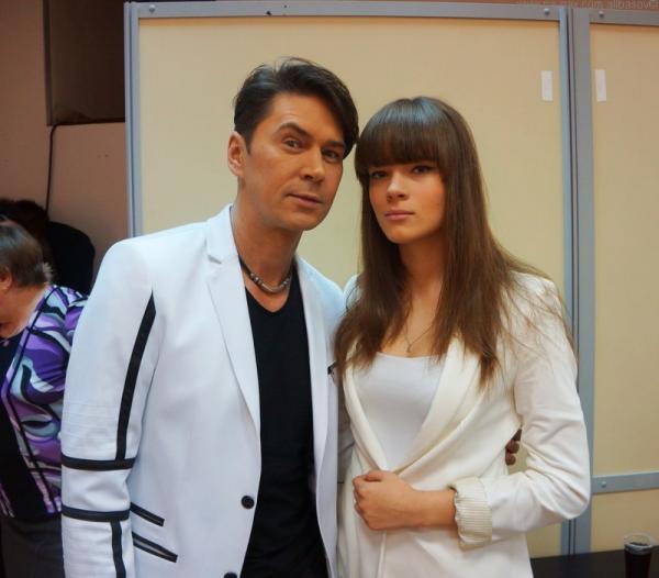 Владимир Политов с дочерью