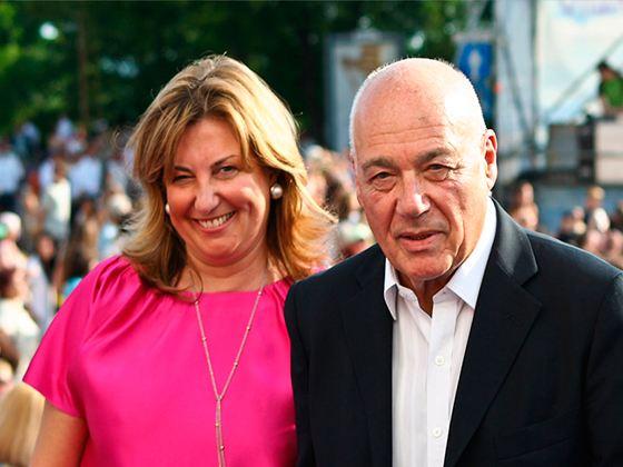 Владимир Познер и его третья жена Надежда Соловьева