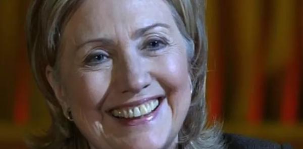 На фото: Хиллари Клинтон в программе «Познер»