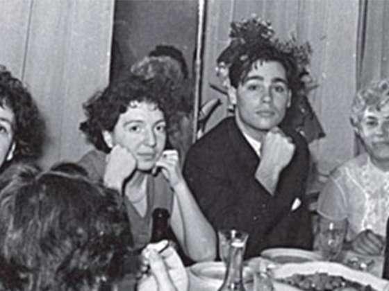 Владимир Владимирович Познер с первой женой Валентиной Николаевной Чемберджи