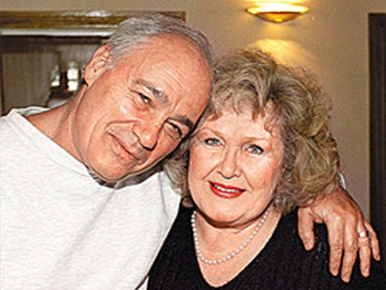 На фото: Владимир Познер со второй женой Екатериной Орловой