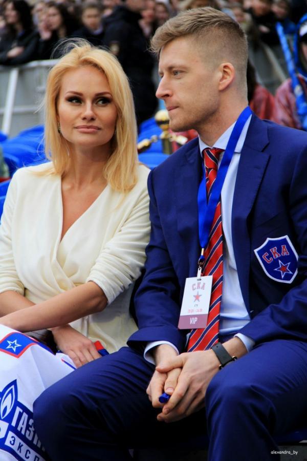 Елена с мужем Антоном