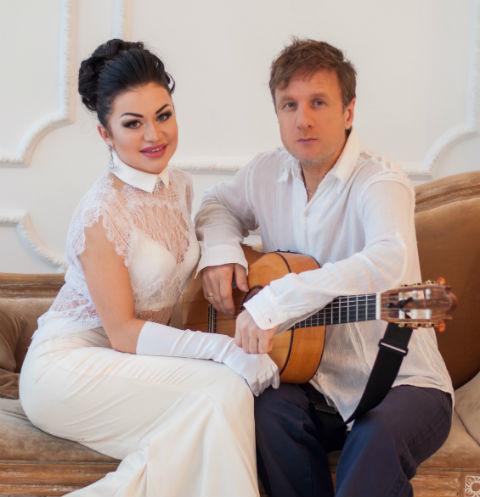 На фото: Дидюля с женой