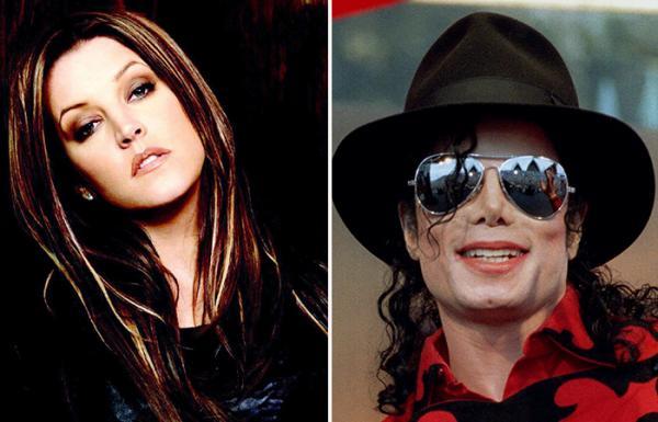 Майкл Джексон и Лайза Пресли