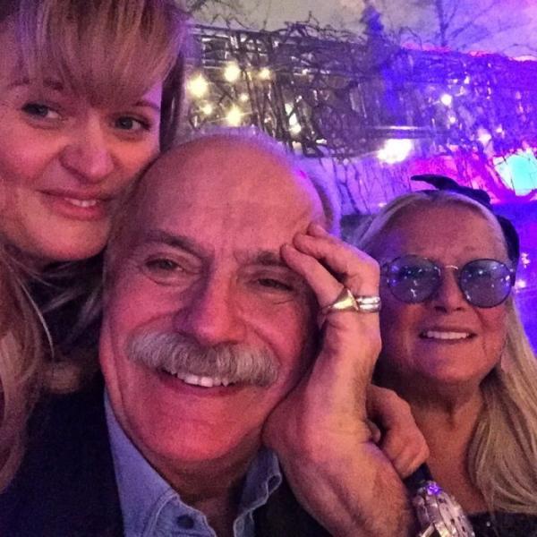 Анна с родителями