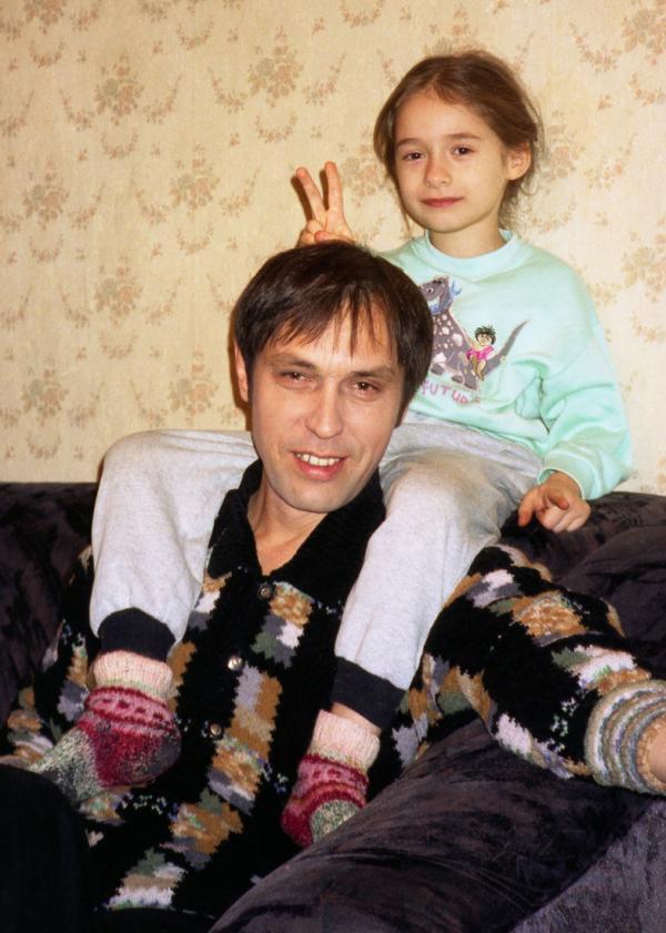 Николай Носков с дочерью Катей