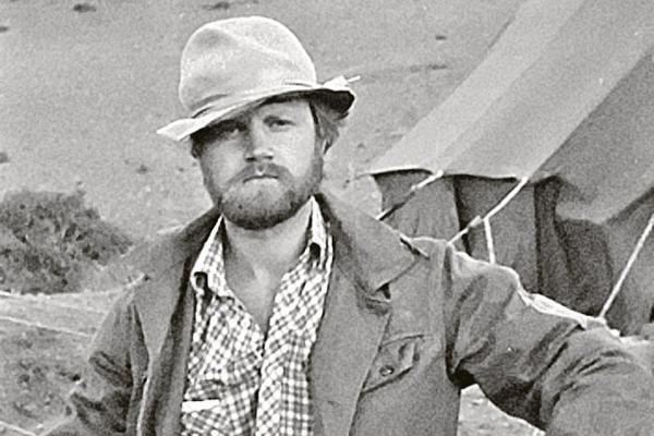 Сергей Миронов в одной из геологических экспедиций