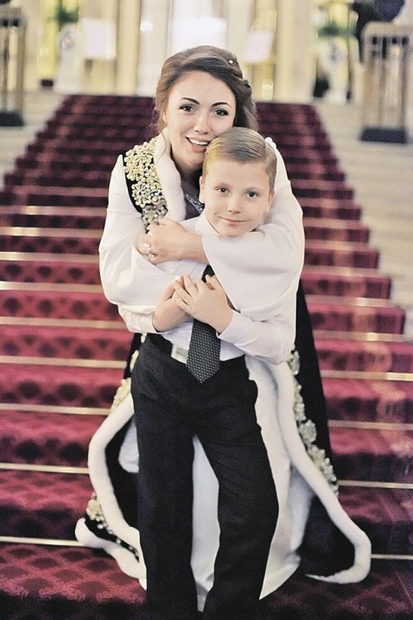 Ольга и её сын