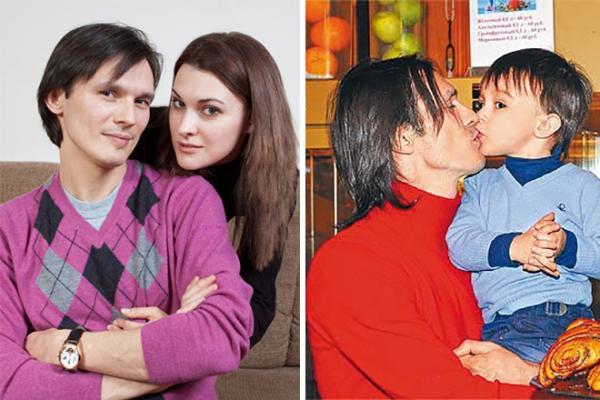 Влад и Ирина; Влад и его сын Тимофей