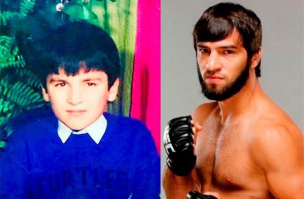Зубайра Тухугов в детстве и молодости