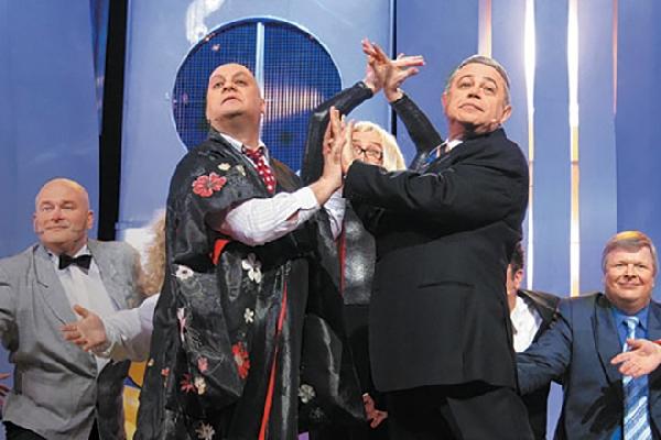 На фото: Михаил Церишенко и Евгений Петросян