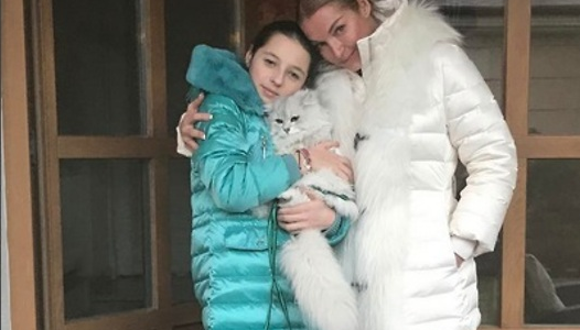 Дочь Волочковой решила сменить свое имя, которое для нее выбрала мама