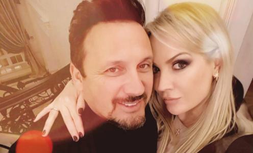 Супруга Стаса Михайлова публично поздравила его с днем рождения