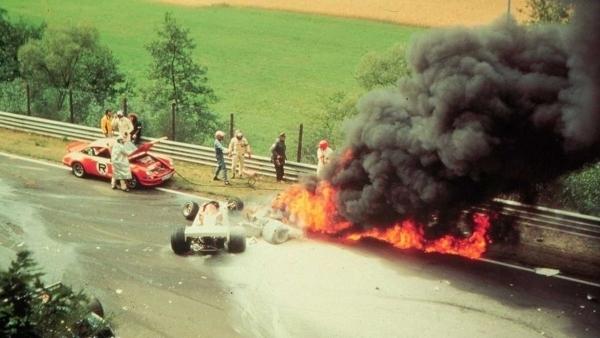 Авария Ники Лауды в 1976 году