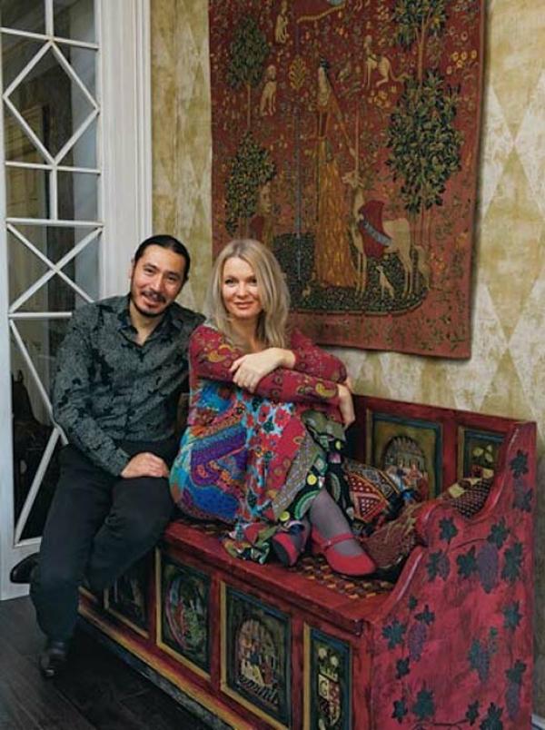 Анастасия Немоляева с мужем