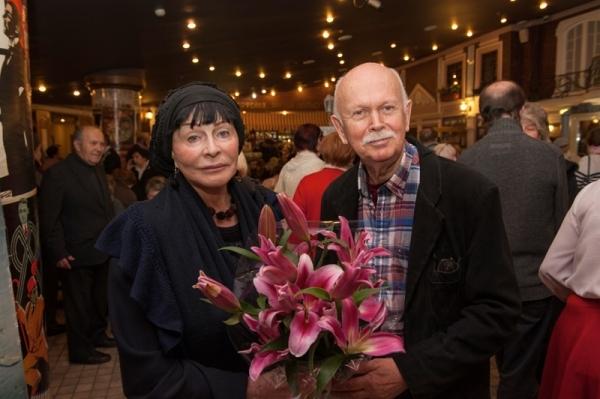 Николай Немоляев с женой Мартой