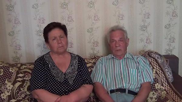 Родители Николая Платошкина