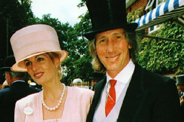 На фото: Роджер Уотерс с 3-й женой Присциллой Филлипс