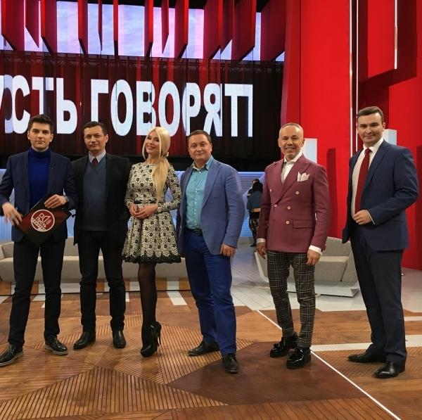 Роман Худяков после съёмок шоу «Пусть говорят»