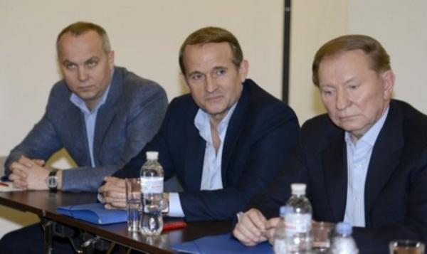 Виктор Медведчук с Леонидом Кучмой
