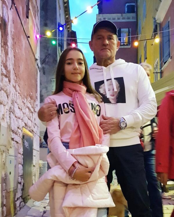Даша с папой