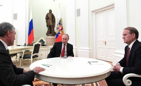 Путин, Медведчук и Володин