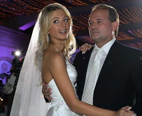 Виктор Медведчук на свадьбе дочери Ирины