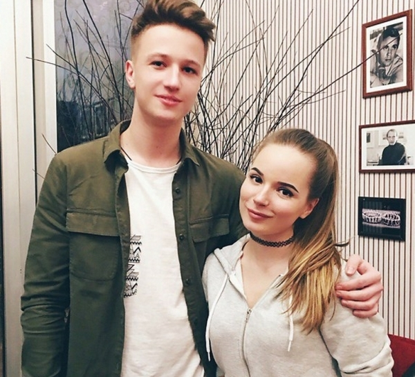Ян с Сашей Спилберг