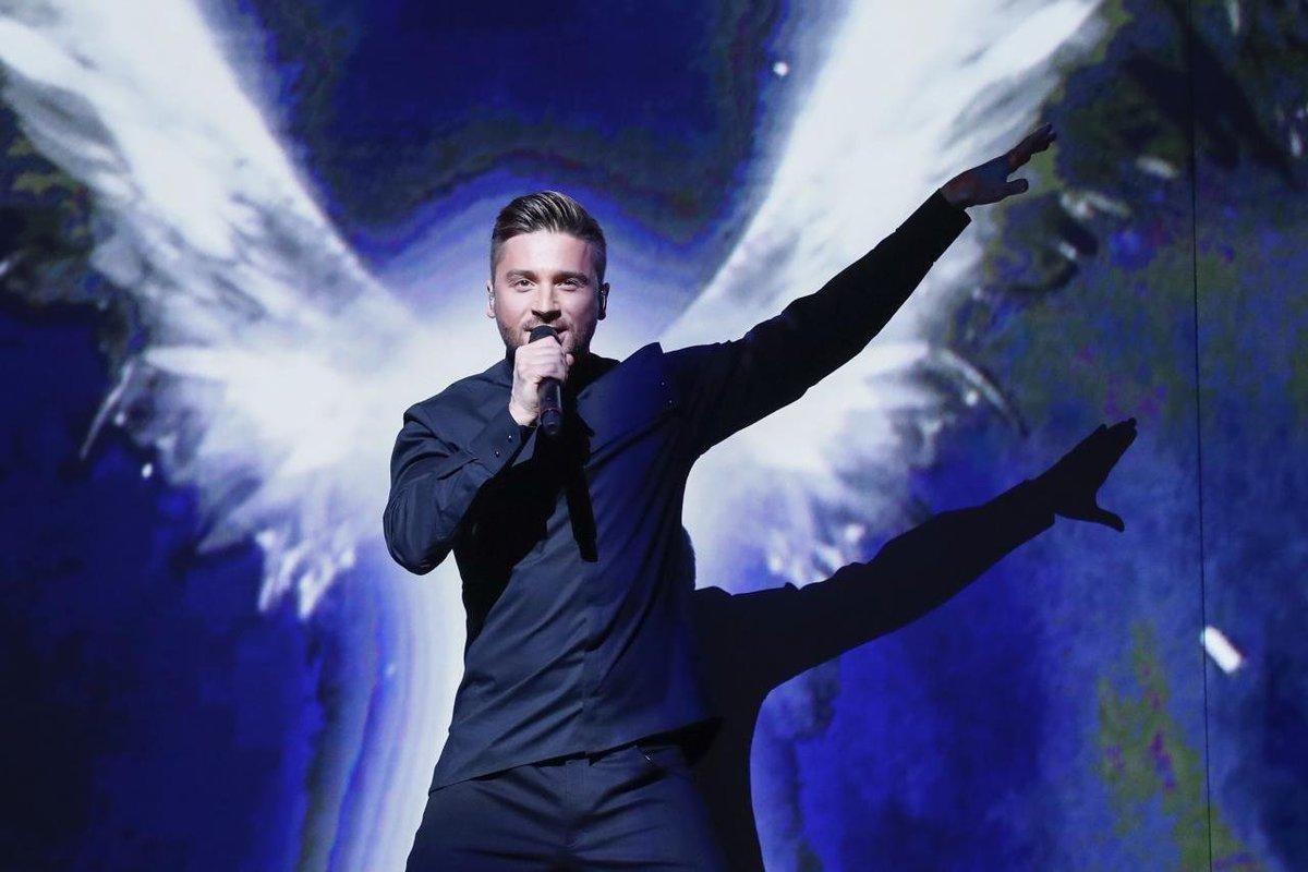 Лазарев на конкурсе «Евровидение»